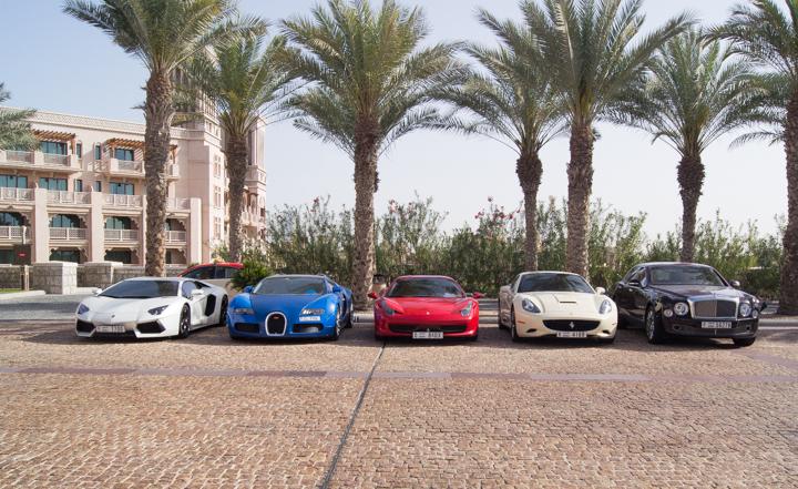 Dure auto's in Dubai