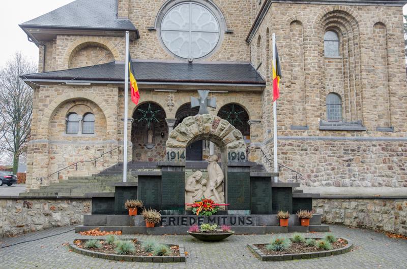 Eerste wereldoorlog in de Ardennen