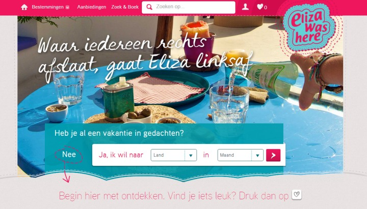 Nieuwe website Eliza was here
