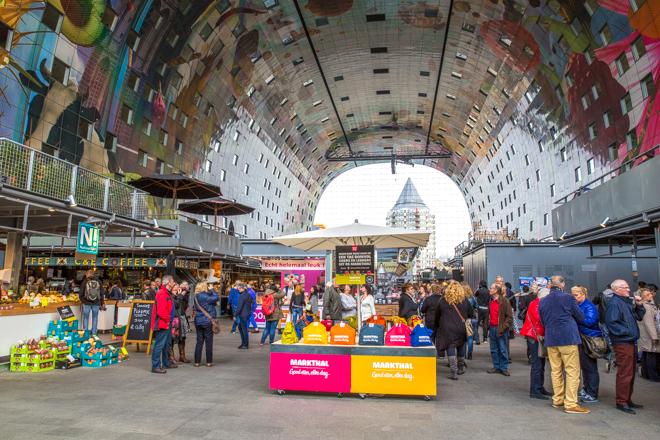 Succesvolle start Rotterdamse Markthal