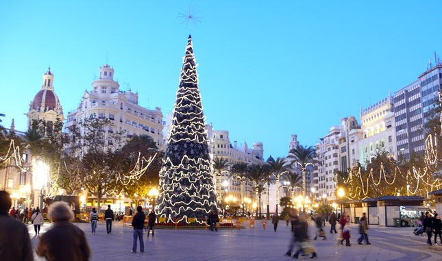 Kerstmis in Valencia