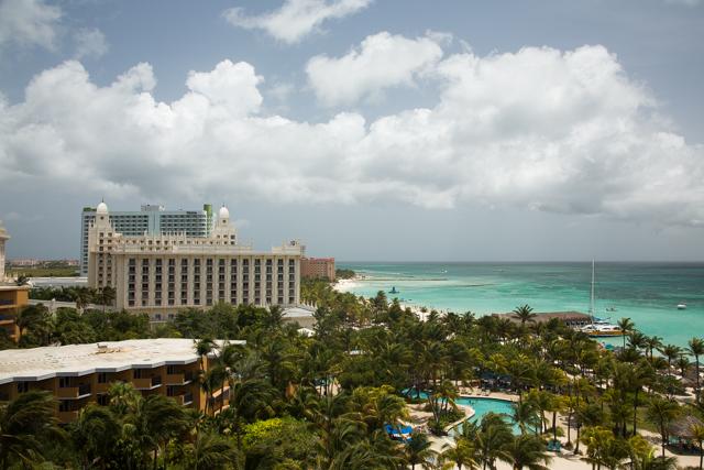 Miljoenste toerist Aruba