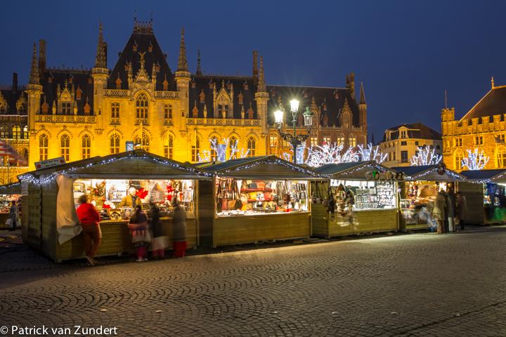 Kerstmarkt in Brugge