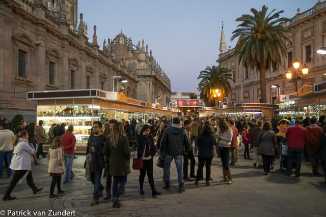 Kerstmarkt in Sevilla