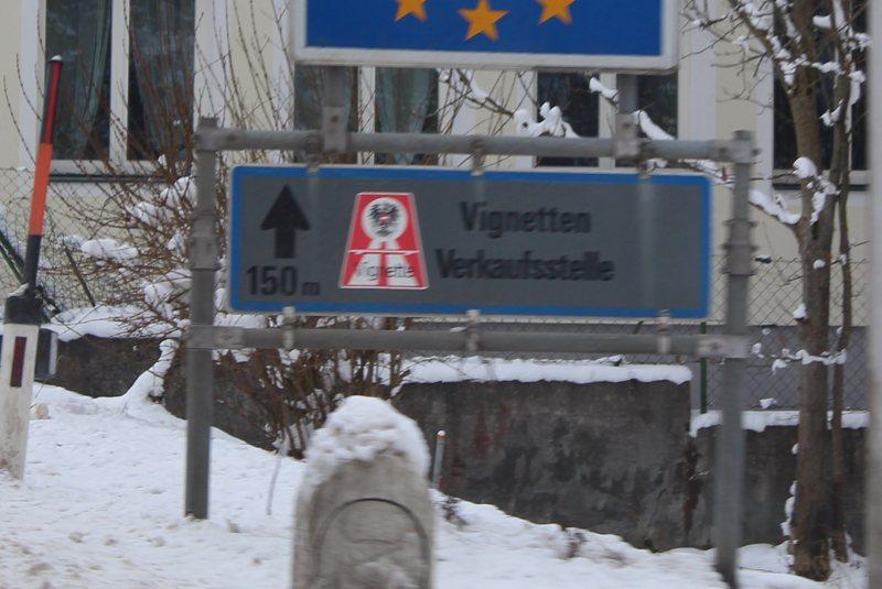 Let op vignettenplicht in Oostenrijk