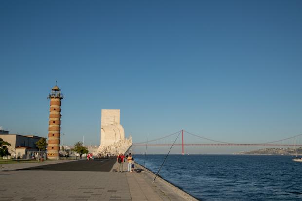 De wijk Belém in Lissabon