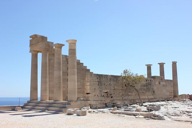 De Akropolis van Lindos