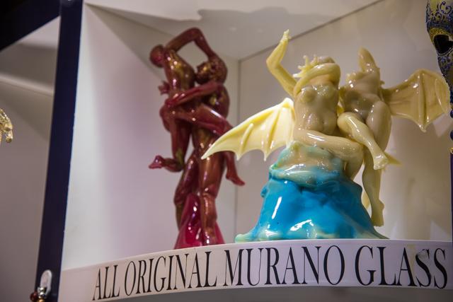Het glaswerk van Murano