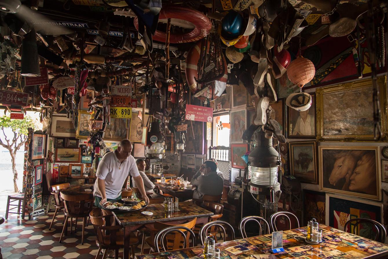 Unieke bar op Aruba