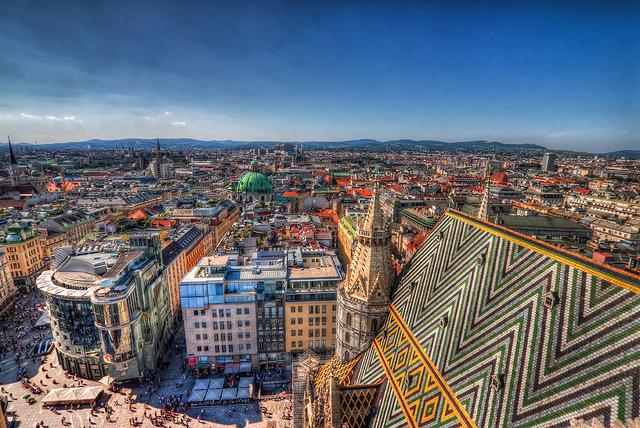 Wenen populaire stedentrip bestemming