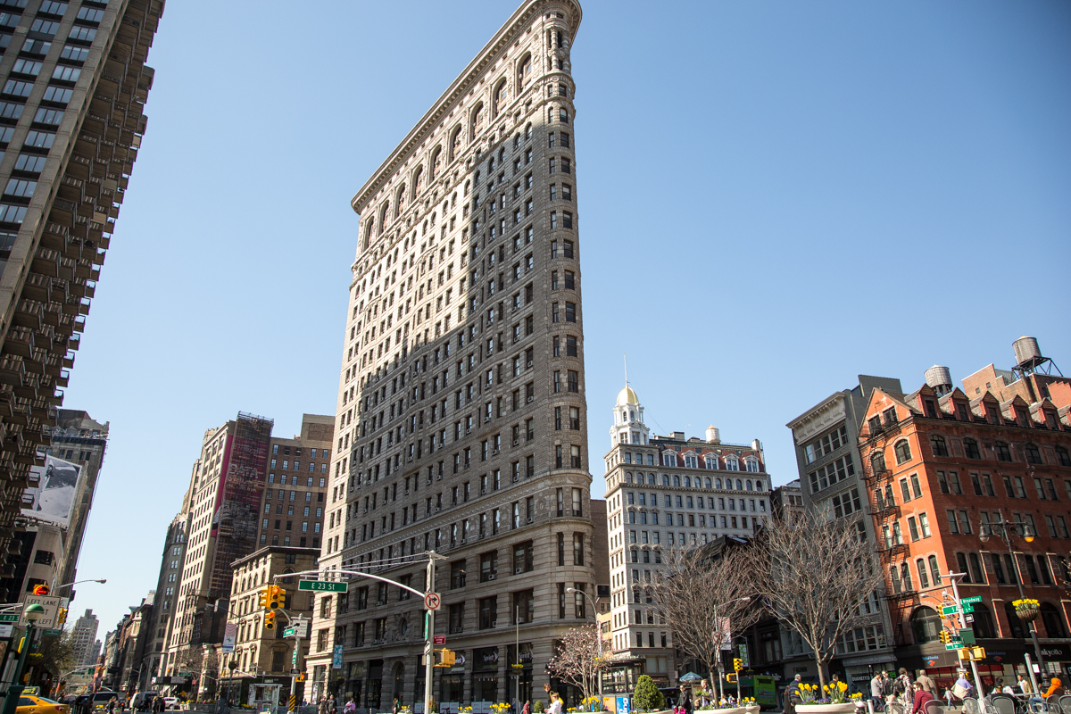 Beleef het Flatiron District in Manhattan