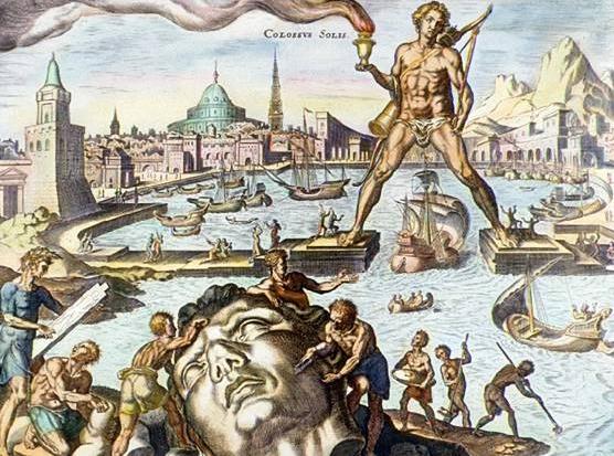De Kolossus van Rhodos