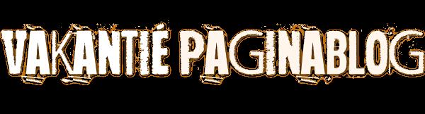 Vakantie Paginablog