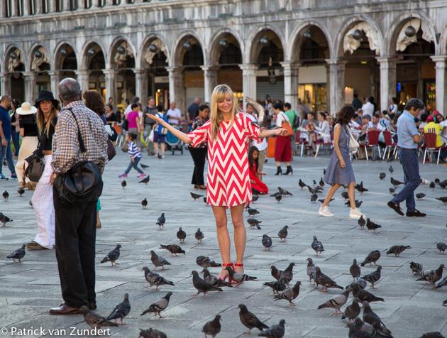 Duiven voeren verboden in Venetië