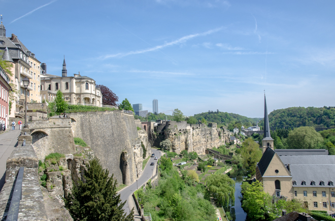Een mini break Luxemburg