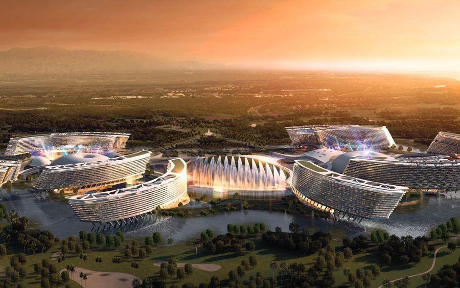 Grootste hotel ter wereld in Australië?
