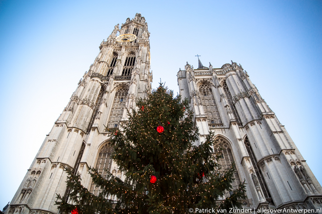 Kerstmis in Antwerpen
