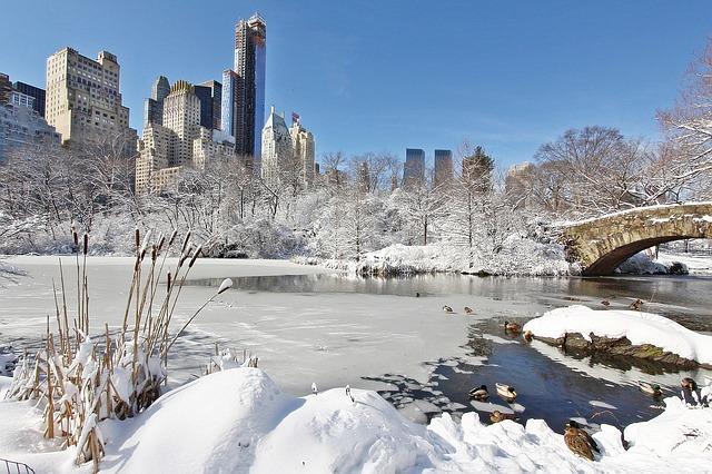 Sneeuw gaat New York teisteren