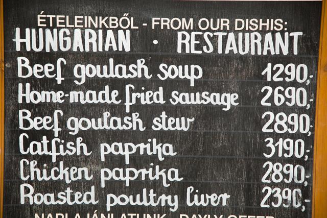 Eten en drinken in Boedapest