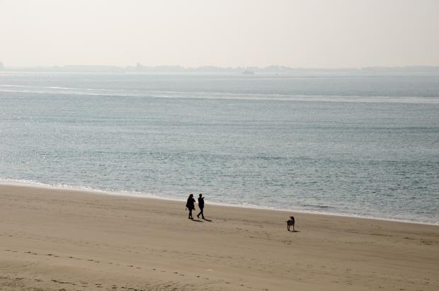 Uitwaaien aan de Zeeuwse kust