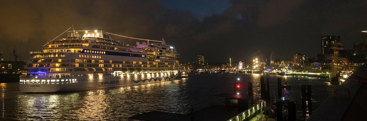 Nieuwe cruise terminal Hamburg