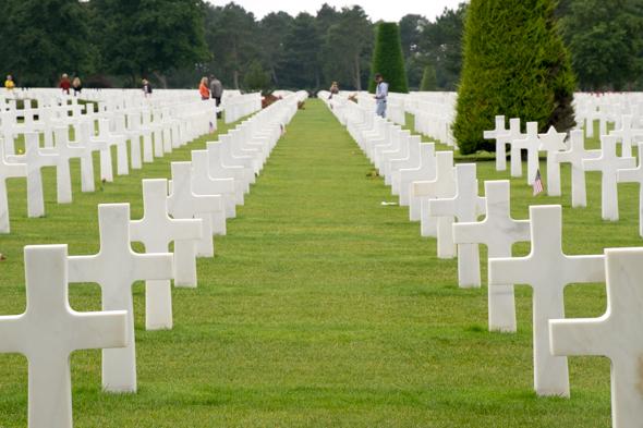 Een dagje historisch besef in Normandië