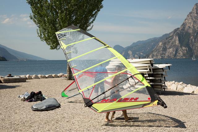Sportief aan het Gardameer