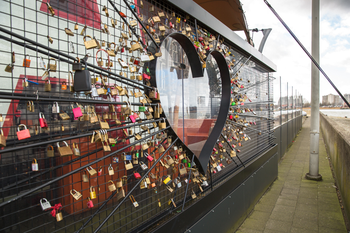 Liefdesmuur in Antwerpen