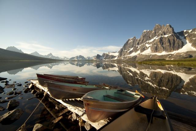 Ontdek de vijf UNESCO World Heritage Sites in Canada's Alberta