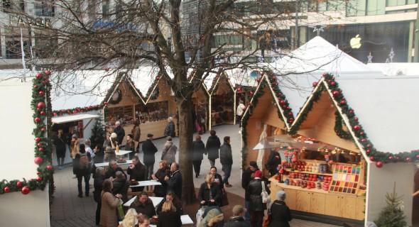 Kerstmarkt 2015 Dusseldorf