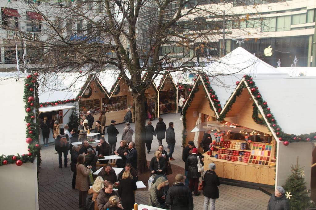 De kerstmarkten van Dusseldorf getest