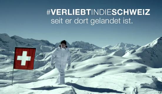 Zwitserland reclame