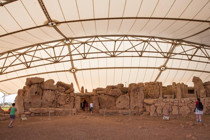 Malta's megalithische tempels