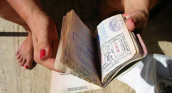 Paspoort mee naar italie