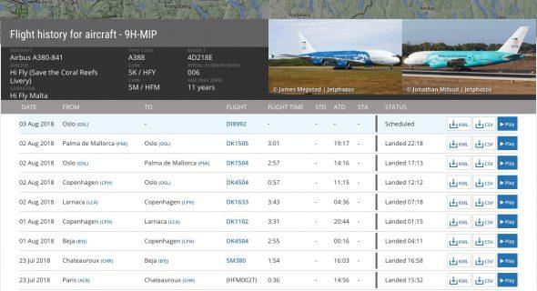 airbus a380 mallorca rhodos