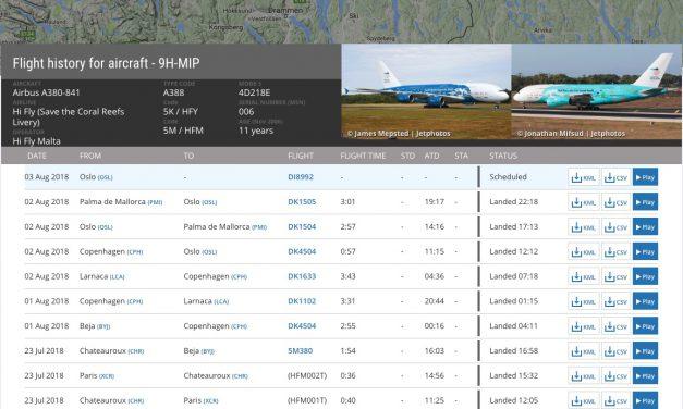 Met een airbus A380 naar Mallorca of Rhodos?
