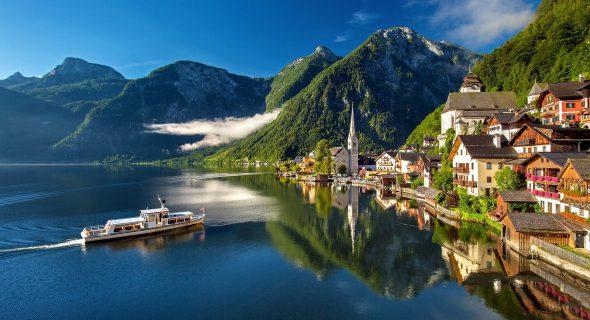 Hallstat in Oostenrijk