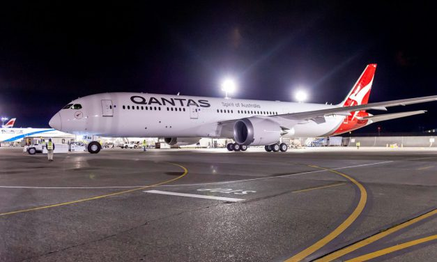 Qantas test nieuwe non-stop verbinding met Australië