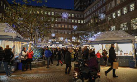 Geen kerstmarkt in Düsseldorf dit jaar