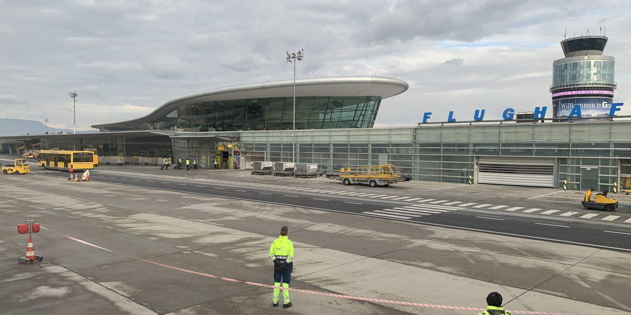 KLM past dienstregeling naar Graz aan