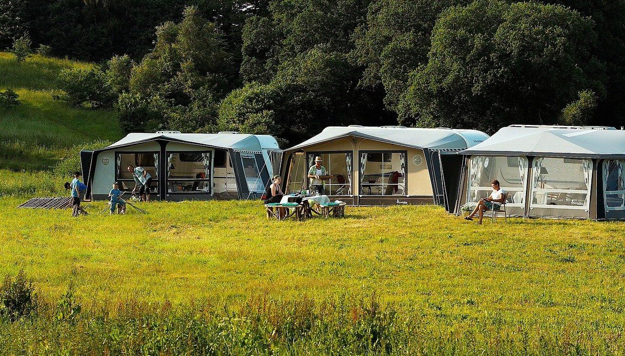 camping in Frankrijk