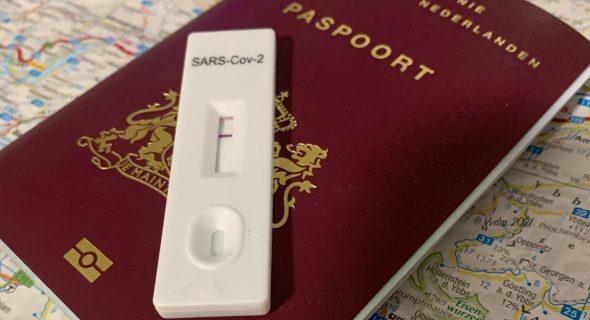 Covid test paspoort