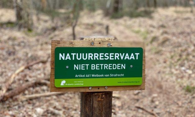 Toon alsjeblieft respect voor de natuur
