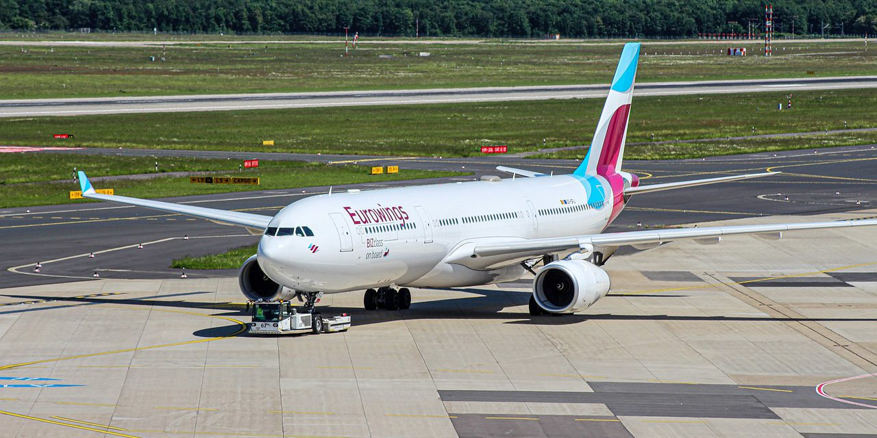 Nu ook betalen voor handbagage bij Eurowings