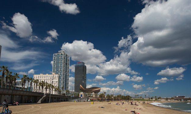 Stad en strand tijdens de herfstvakantie